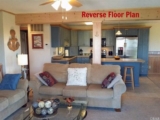 Reverse Floor Plan,Coastal, Condo - Duck, NC (photo 2)