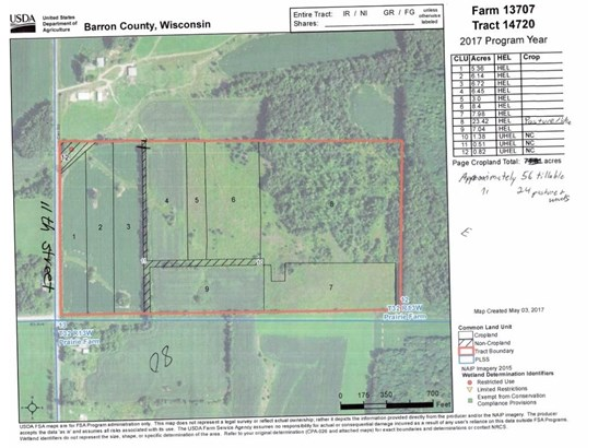 Lot 3 11th St, Prairie Farm, WI - USA (photo 1)