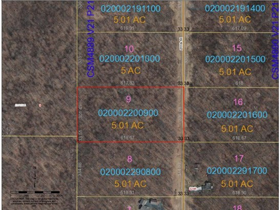Lot 9 211th Street, Eureka Center, WI - USA (photo 1)