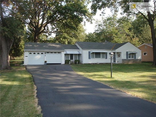 Newer roof and driveway (photo 2)