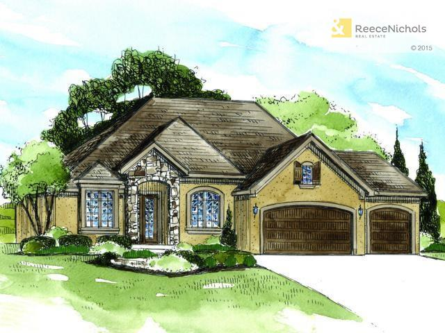 The Wellington by C&M - This rendering may not reflect the homeowners selections or changes