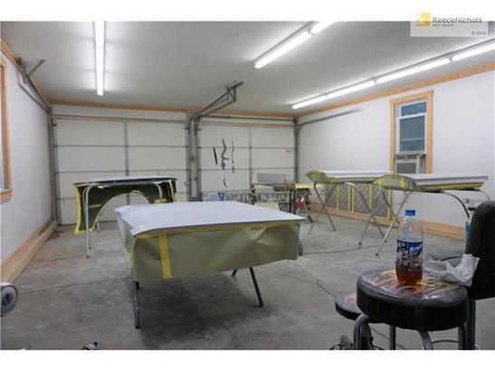Interior of detached garage. (photo 4)
