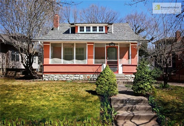 Honey, stop the car. This house is too cute to pass by. It has all the things you hope to find in a Brookside bungalow. (photo 1)