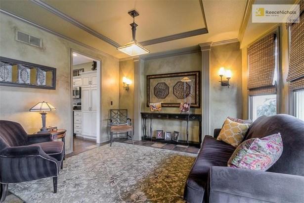 Den or Dining Room w/ gorgeous slate tile flooring (photo 3)