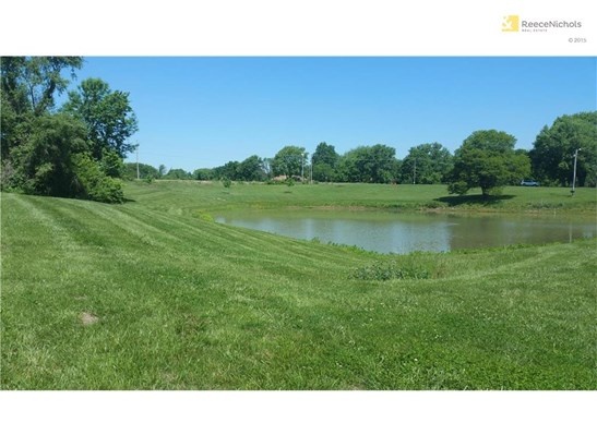 View from the Southeast side of the pond looking toward the road frontage. A great view from a future front yard possibly. (photo 2)