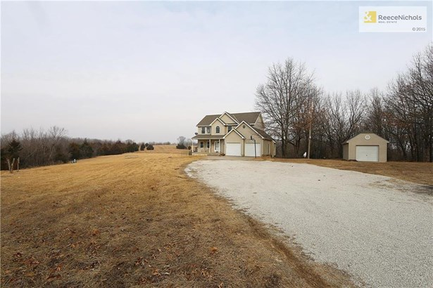 Home sits off the road and allows for that quiet life you have been dreaming of! (photo 1)