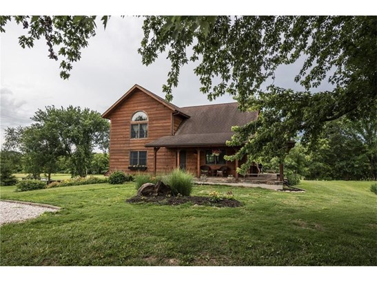 Turtle Rock greets you as you drive up to this GORGEOUS wood home!  26905 E. Flynn Road is one of those SPECIAL homes that you will want to call HOME! (photo 1)