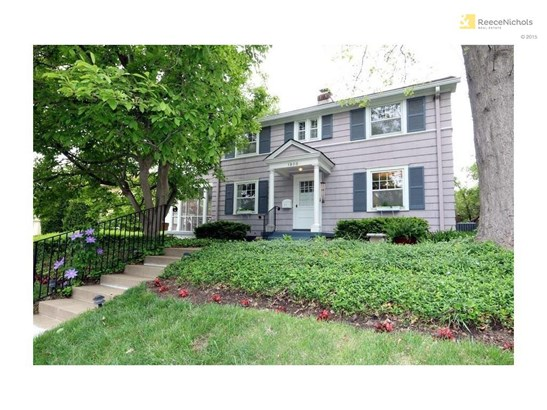 Welcome home to 1908 W 49th Street.  Terrific landscaping and