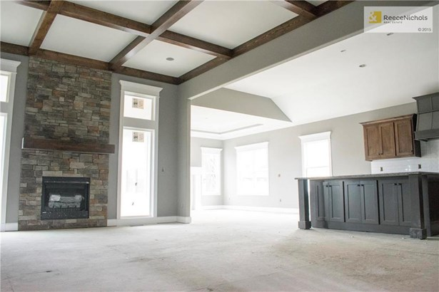 Great open layout.  Hardwood floors will be installed throughout great room, formal dining/hearth room, kitchen, and hallway. (photo 3)