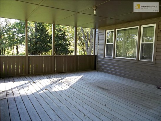 Large Covered Deck.  Could easily be enclosed. (photo 3)