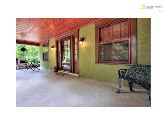 Front Porch in all it's splendor!  Wouldn't it be fun to just enjoy it in the cooler weather? (photo 3)