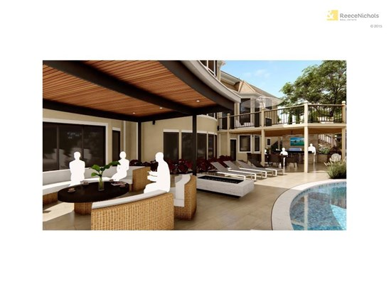 The rendering of this unbelievable pool and enhanced entertainment space will leave your guests speechless. (photo 3)