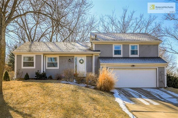 Welcome Home to 14617 W. 91st Terrace in beautiful Lenexa.  Charming 4 bedroom, 2.1 bath home in move in ready condition.  Newer Roof, gutters, doors, and windows. (photo 1)