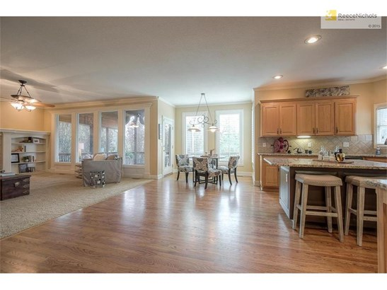 Completely open from kitchen to family room with tons of natural light! (photo 3)