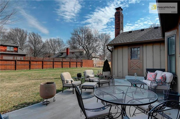 Large Fenced Backyard with Patio. (photo 4)