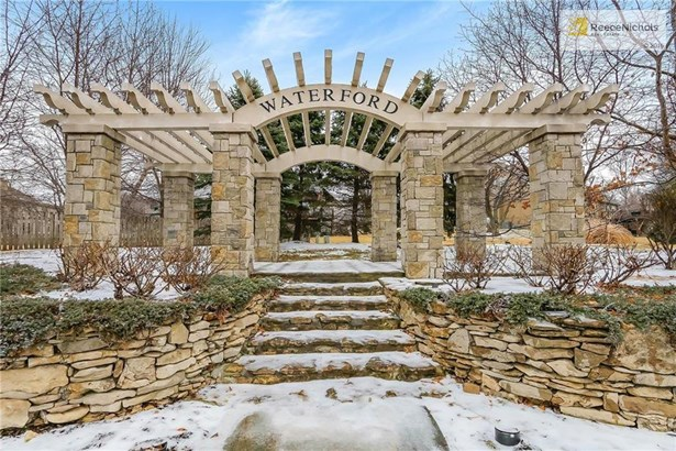 Welcome to beautiful Waterford !!  The quality of this entrance alone will tell you the quality of this sought after subdivision. (photo 2)
