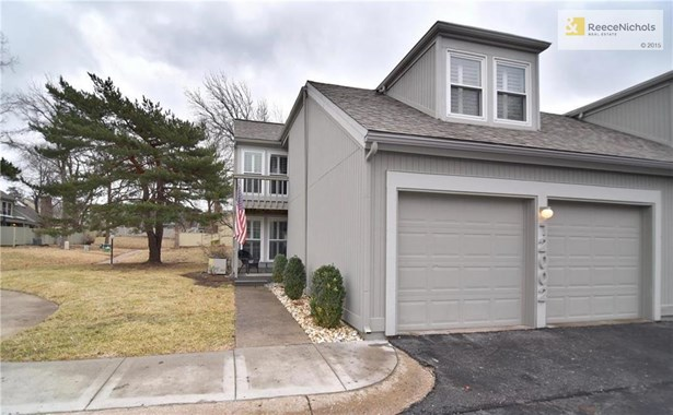 Welcome home! True two car garage and next to neighborhood walking trail! (photo 1)