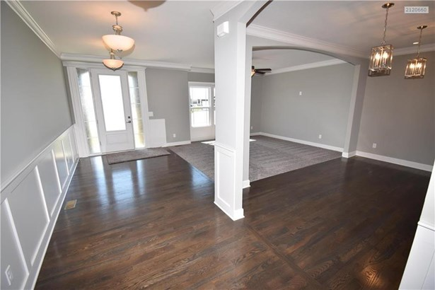 House is so big for a 'Flex' Room concept 2 story, that is has room for this Formal Dining Room, in addition to the Flex Room and Great Room.  Also has Breakfast Room, enough space for a kitchen table off of kitchen in Breakfast Area. (photo 5)