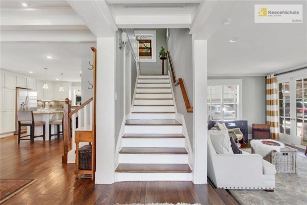 What a beautiful entry with split stair case and views to both the living room and dining room! (photo 4)