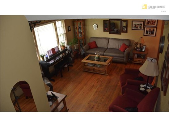 View of Living Room from the Upstairs Hall (photo 4)