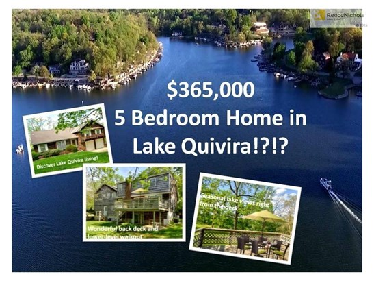 CURB APPEAL IS DARLING FOR THIS NEW LAKE QUIVIRA 5- BEDROOM OPPORTUNITY! (photo 1)