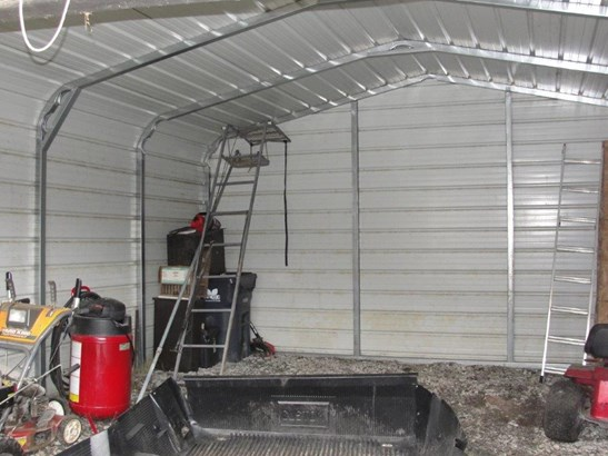 Storage shed is removable - no permanent floor (photo 5)