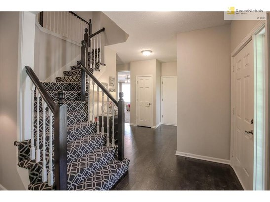 New stair carpet AND newly refinished hardwoods! (photo 3)