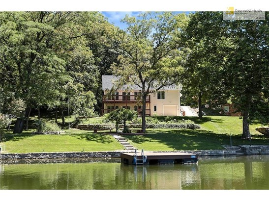 Beautiful home on an even better lake front lot. (photo 1)