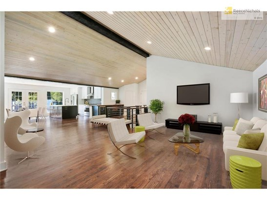Step into this totally open floor plan w/ vaulted ceilings (photo 1)