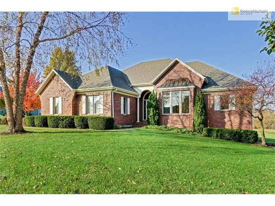 Welcome to 6850 Deer Ridge Drive in Western Shawnee.  This lovely all brick ranch home has 1.62 acre estate lot. (photo 1)