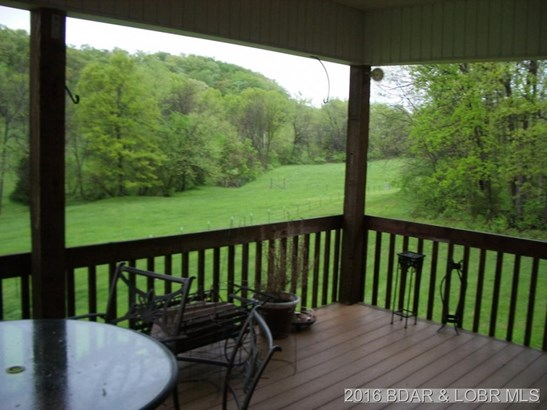 Covered Deck overlooking creek (photo 3)