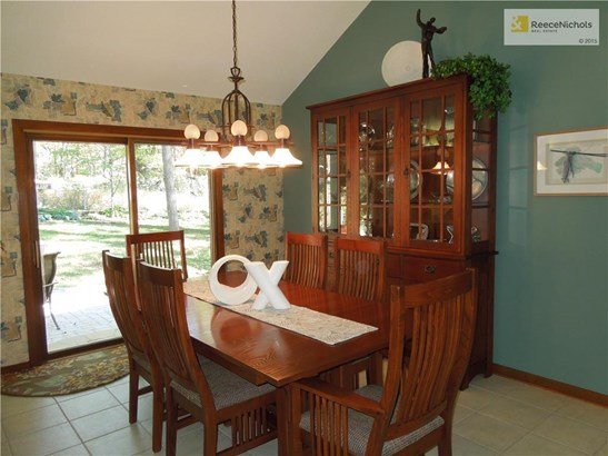 Large Dining area with access to patio and beautiful backyard. (photo 4)