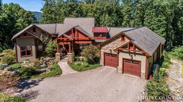 Craftsman,Mountain,Timber Frame, Residential - Todd, NC