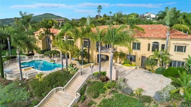 Mediterranean, Single Family Residence - Rancho Santa Fe, CA