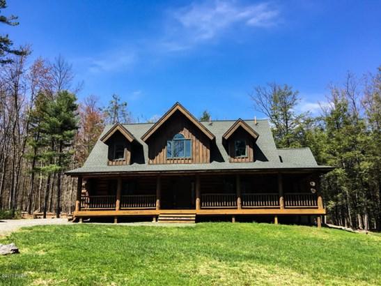 Cape Cod,Log Home, Detached - Lakeville, PA (photo 1)