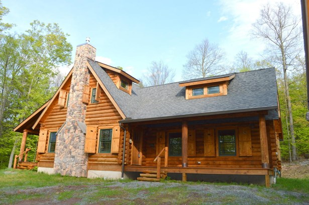 Detached, Log Home - Equinunk, PA (photo 1)