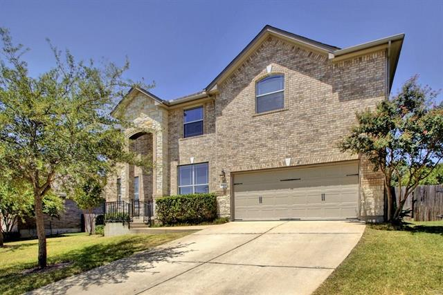 Multi-level Floor Plan, House - Cedar Park, TX
