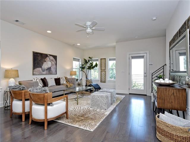 Multi-level Floor Plan, House - Austin, TX (photo 1)