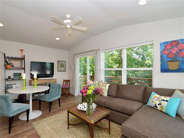 Garage/Guest House, 2nd Floor Entry - Austin, TX (photo 3)