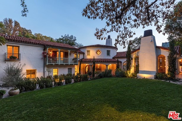 Single Family Residence, Spanish Colonial - BEVERLY HILLS, CA