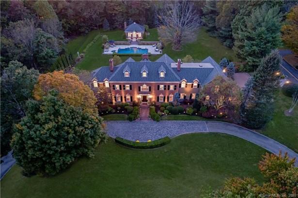 Single Family For Sale, Georgian Colonial - Ridgefield, CT