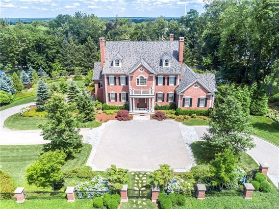 Single Family For Sale, Colonial,Georgian Colonial - Ridgefield, CT (photo 1)