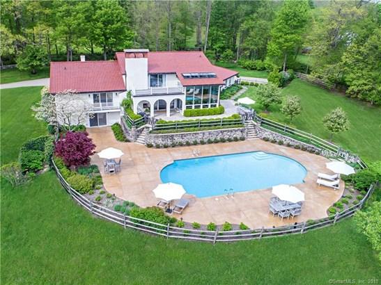 Single Family For Sale, Contemporary,Mediterranean - Ridgefield, CT (photo 1)