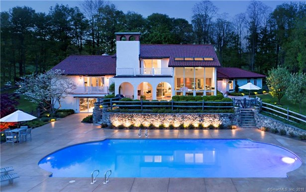 Single Family For Sale, Contemporary,Mediterranean - Ridgefield, CT (photo 2)