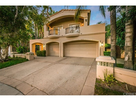 Mediterranean, Single Family Residence - Calabasas, CA (photo 2)