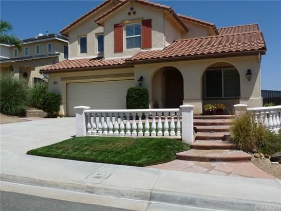 Contemporary,Mediterranean, Single Family Residence - Castaic, CA (photo 1)