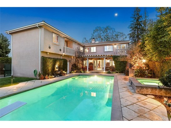 Mediterranean, Single Family Residence - Encino, CA (photo 3)