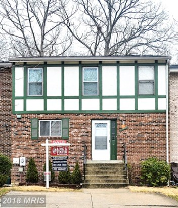 Colonial, Attach/Row Hse - LAUREL, MD (photo 1)