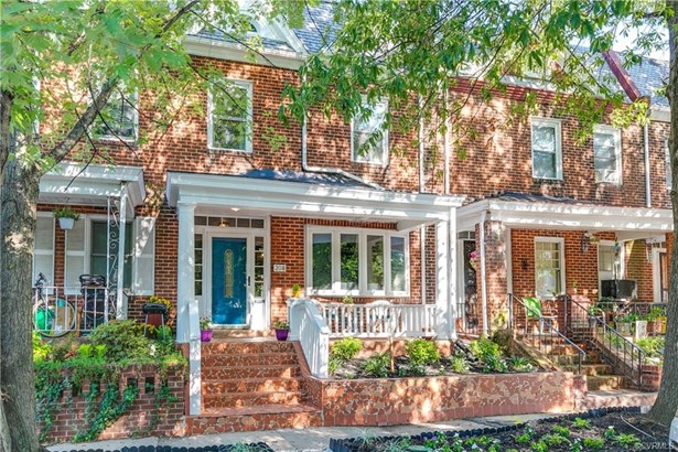 2-Story, Rowhouse/Townhouse, Victorian, Single Family - Richmond, VA