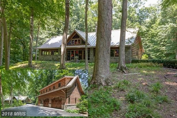 Detached, Log Home - HARWOOD, MD